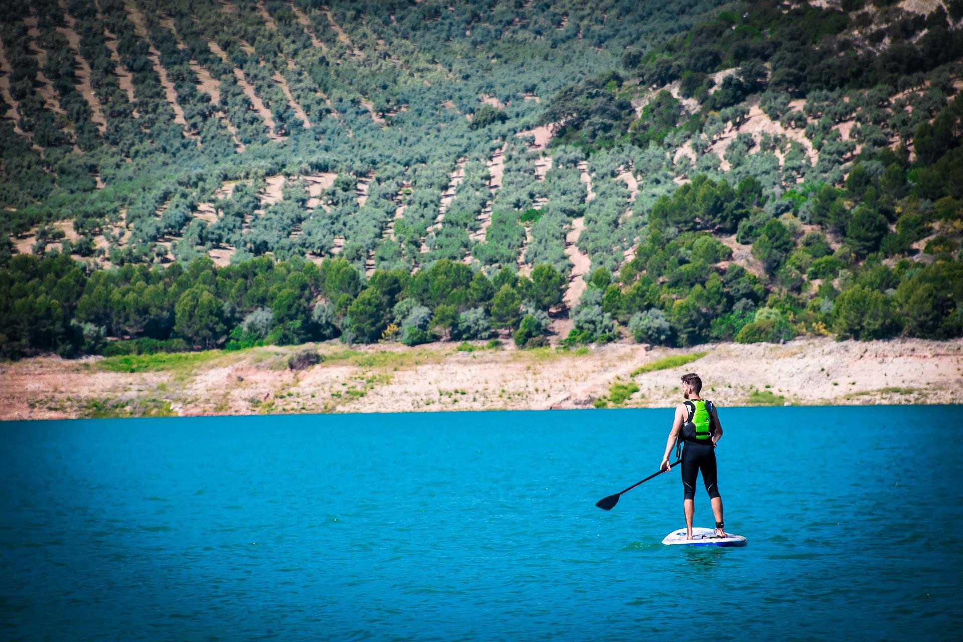PADDLE SURF en Iznájar