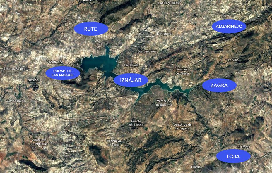 mapa estación