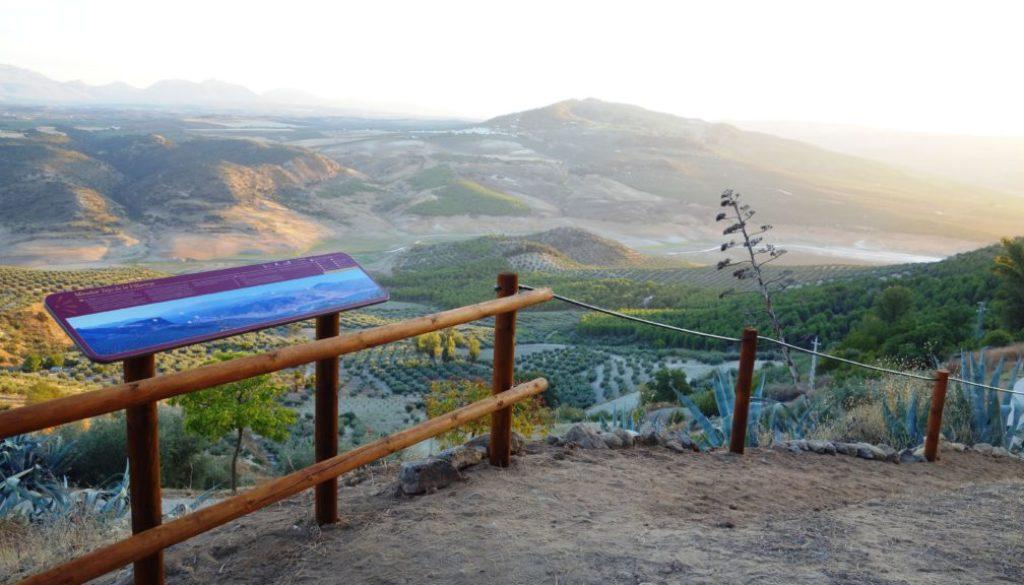 Mirador Tajo de la Villavieja, poblado prehistórico.
