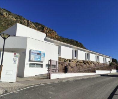 Fachada del Centro de Interpretación del Embalse de Iznájar