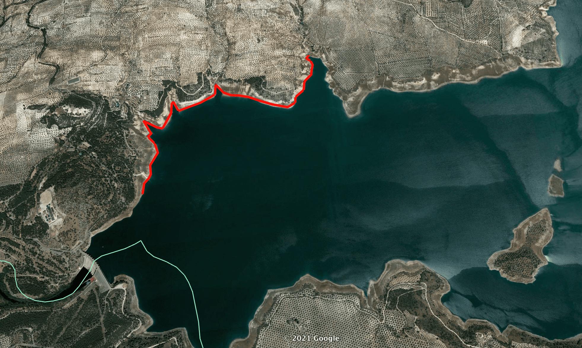 Tramo 4 Pesca Lago de Andalucía